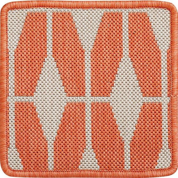 "Aldo Mandarin Indoor-Outdoor 12"" sq. Swatch"