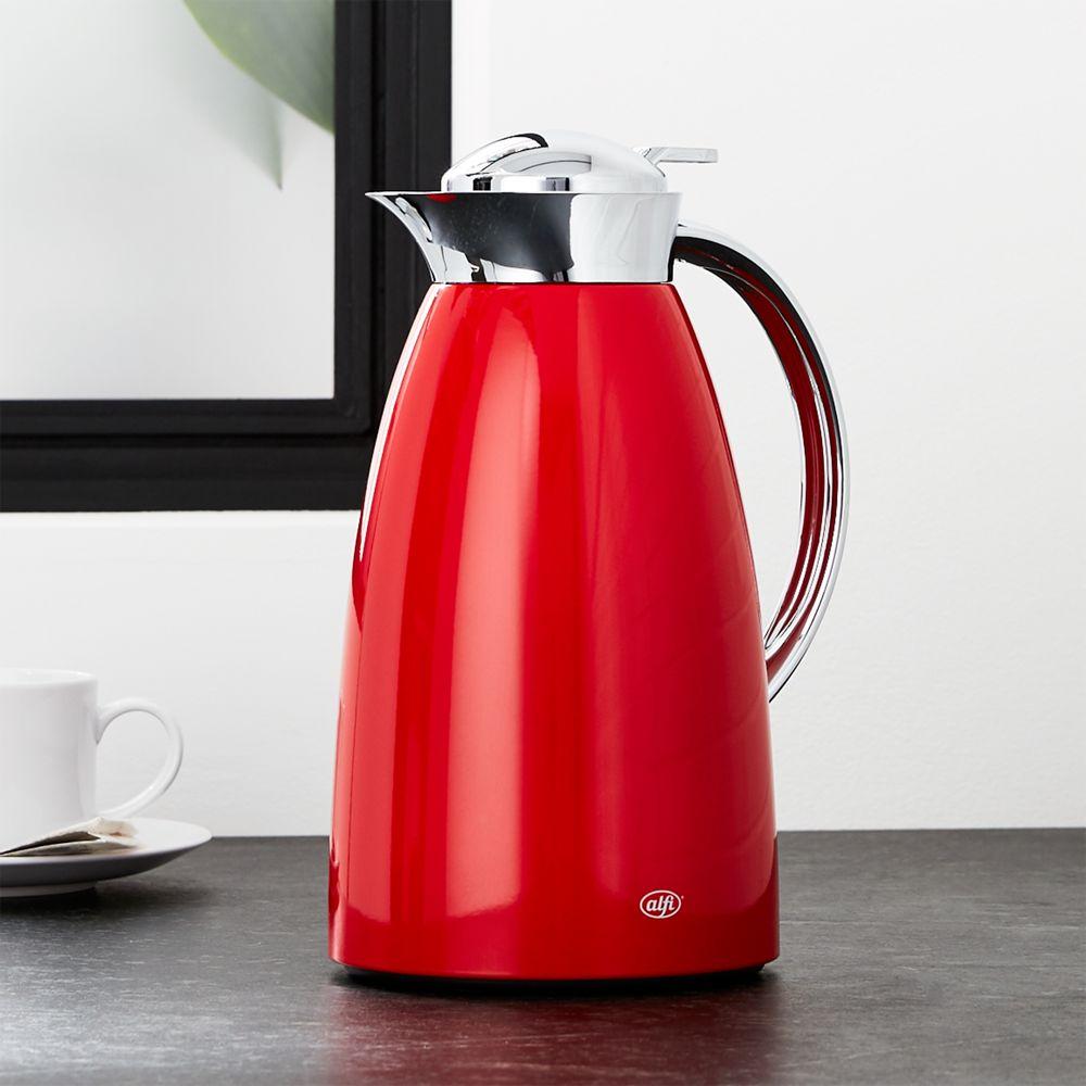 Alfi Gusto Red Thermal Carafe - Crate and Barrel