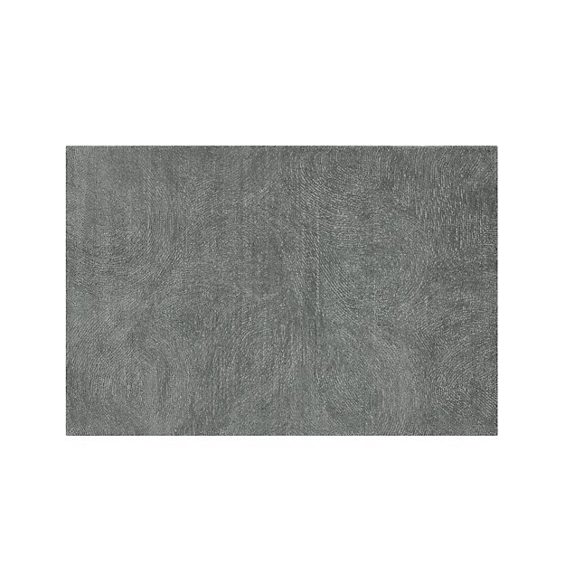 Alfredo Grey Wool Rug 9 X12 Reviews Crate And Barrel