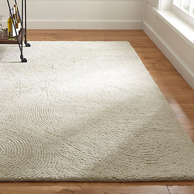Alfredo Ivory Wool Rug Crate And Barrel