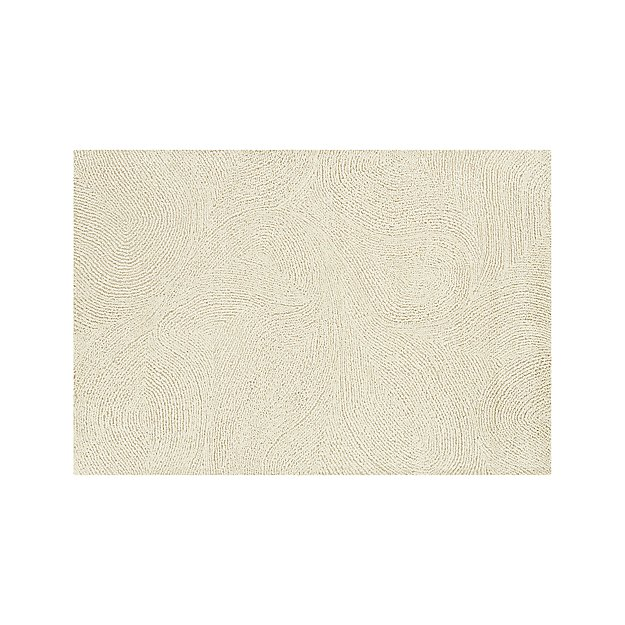 Alfredo Ivory Wool Rug 8 X10 Reviews Crate And Barrel