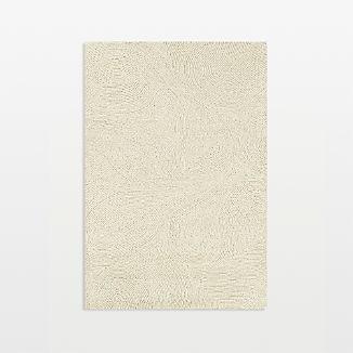 Alfredo Ivory Wool Rug 5'x8'