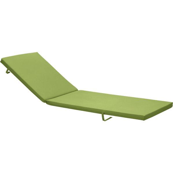 Alfresco Sunbrella ® Kiwi Chaise Cushion