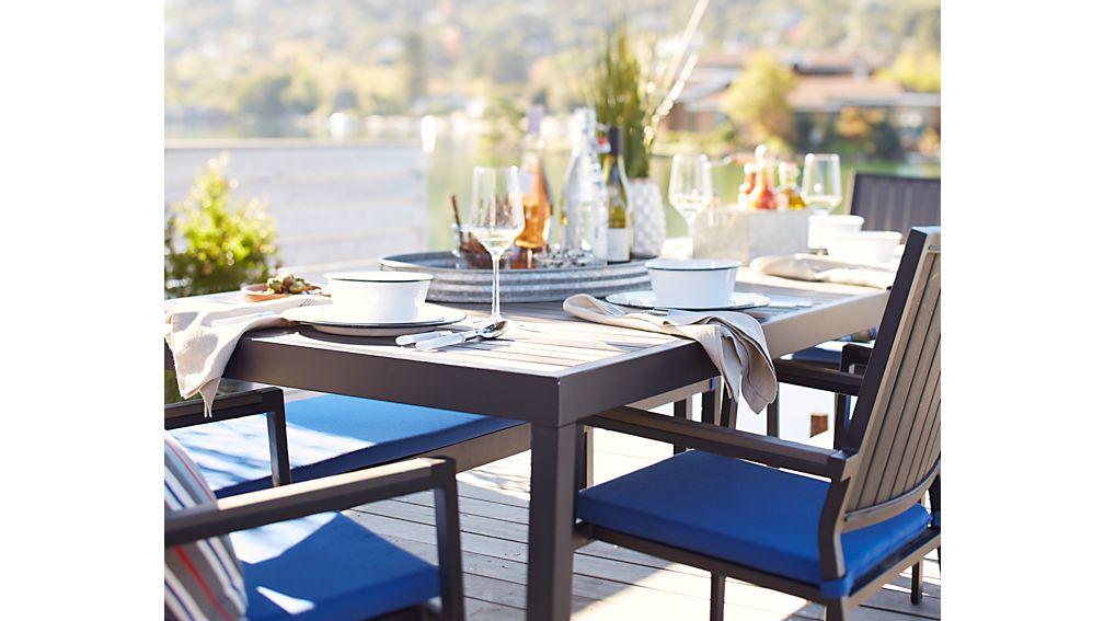 Alfresco Grey Rectangular Dining Table