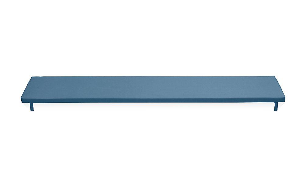 Alfresco Sapphire Sunbrella ® Dining Bench Cushion - Image 1 of 2