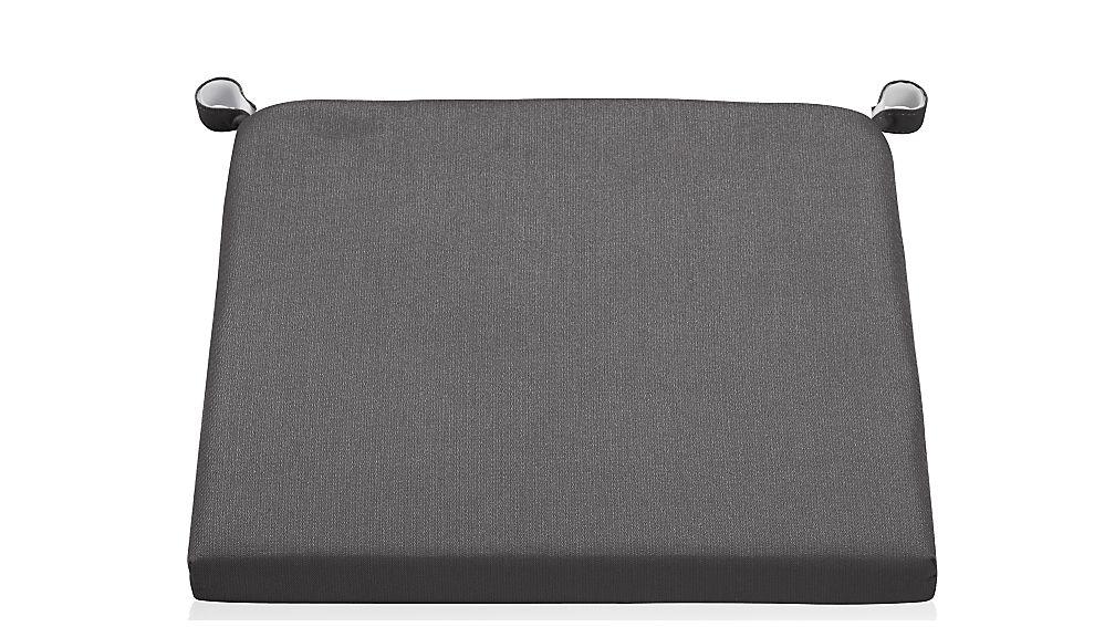 Alfresco Charcoal Sunbrella ® Chair-Bar Stool Cushion - Image 1 of 3
