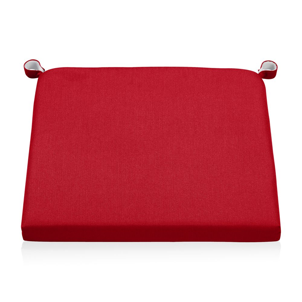 Alfresco Sunbrella ® Chair-Bar Stool Cushion - Crate and Barrel