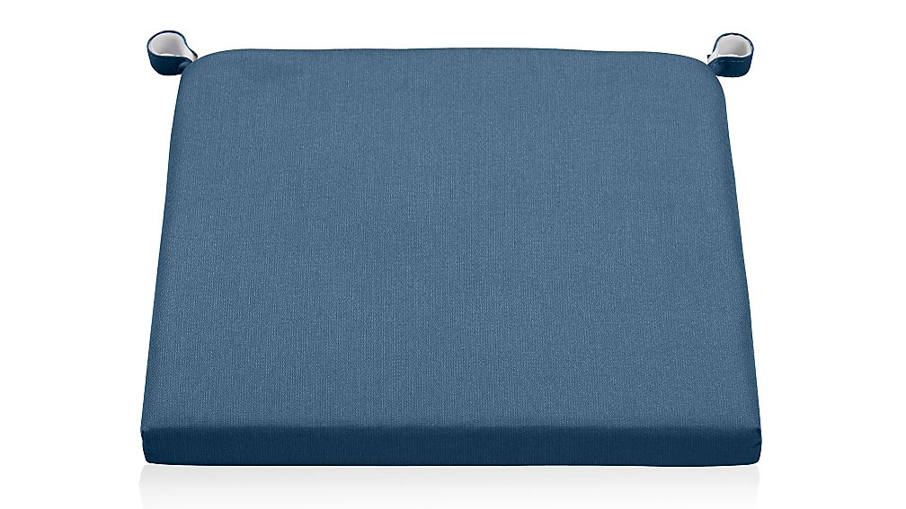 Alfresco Sapphire Sunbrella ® Chair-Bar Stool Cushion - Image 1 of 2