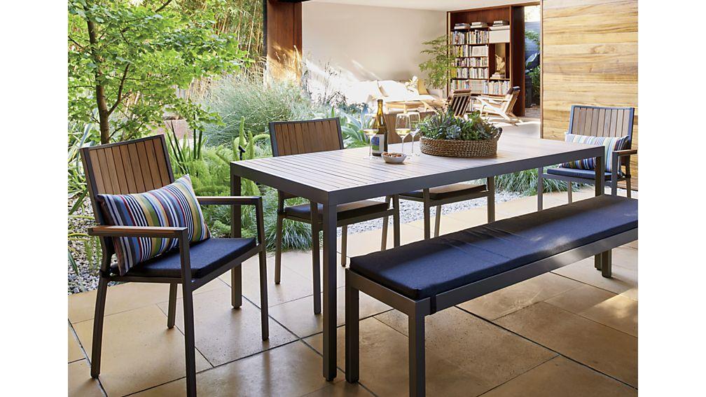 Alfresco Natural Rectangular Dining Table