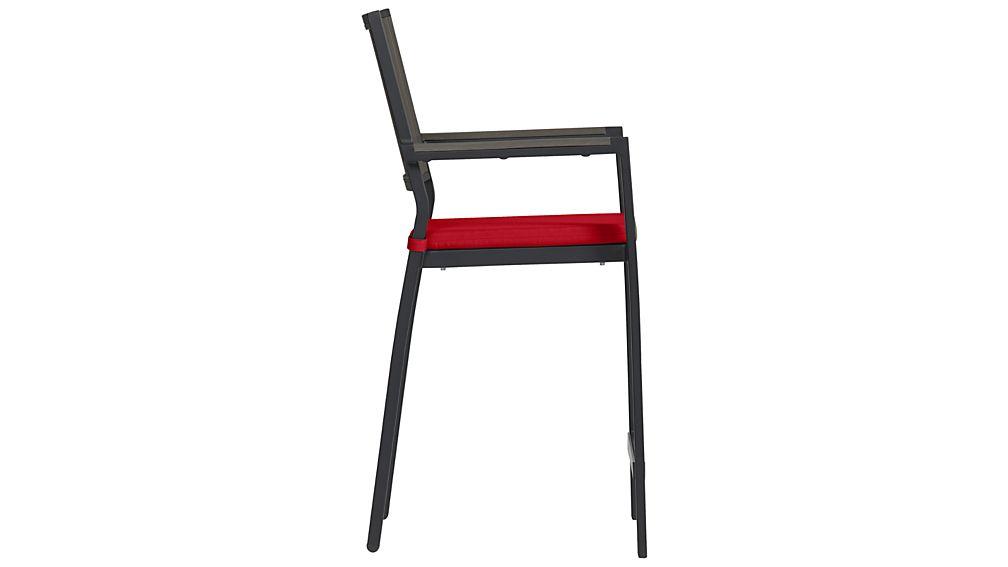 "Alfresco Grey 24"" Counter Stool with Sunbrella ® Cushion"