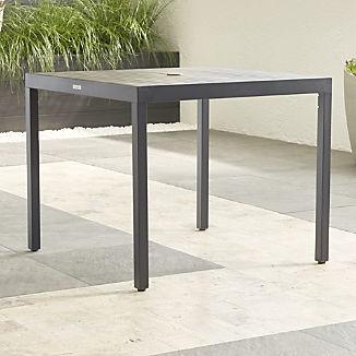 Alfresco II Grey Café Dining Table