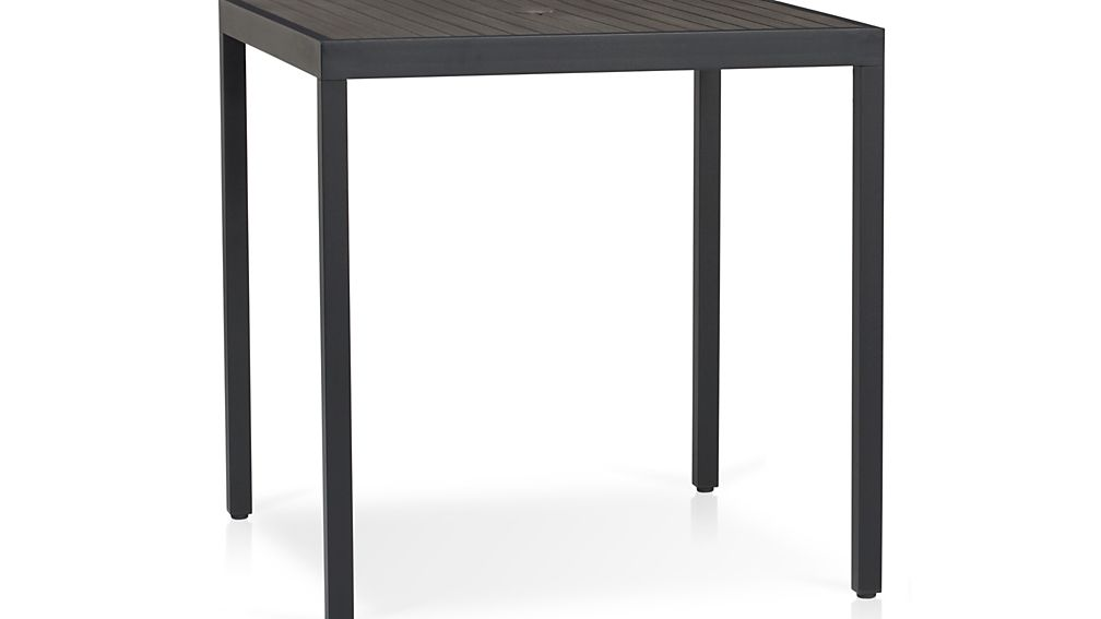 Alfresco Grey High Dining Table