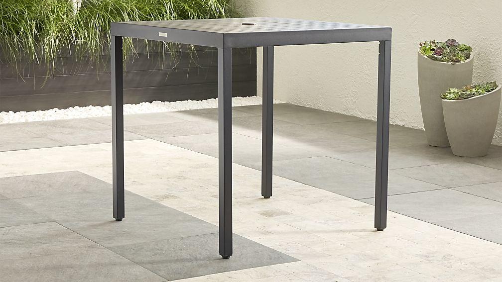 Alfresco II Grey High Dining Table - Image 1 of 7