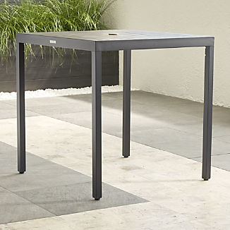 Alfresco II Grey High Dining Table