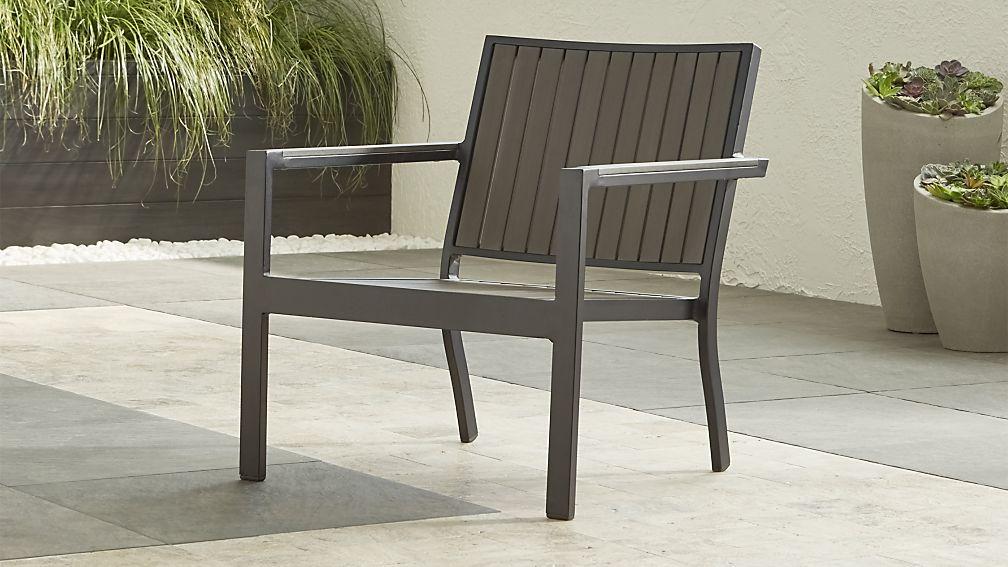 Alfresco II Grey Lounge Chair - Image 1 of 2