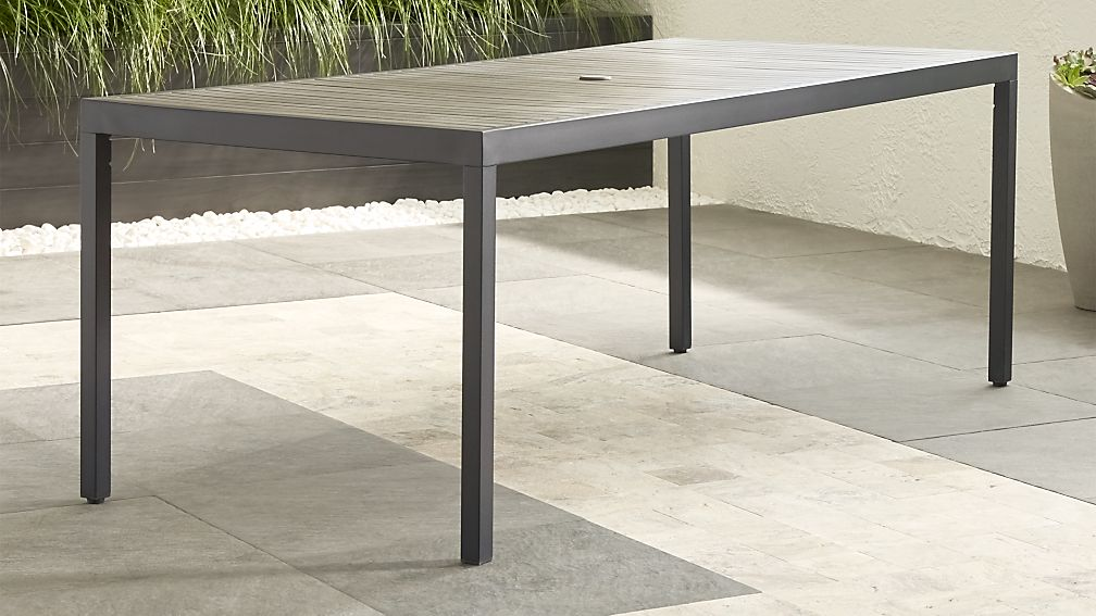 Alfresco II Grey Rectangular Dining Table - Image 1 of 13