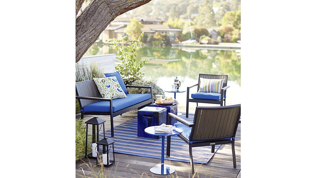 Alfresco Grey Lounge Chair