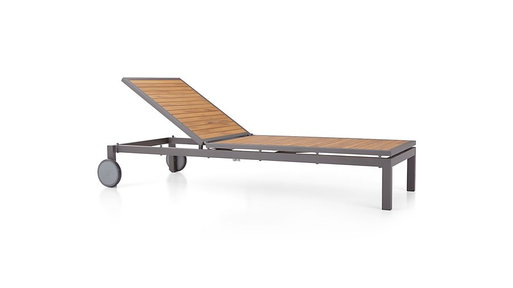 Alfresco Natural Chaise Lounge