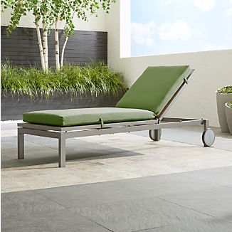 Alfresco II Natural Chaise Lounge With Sunbrella ® Cushion