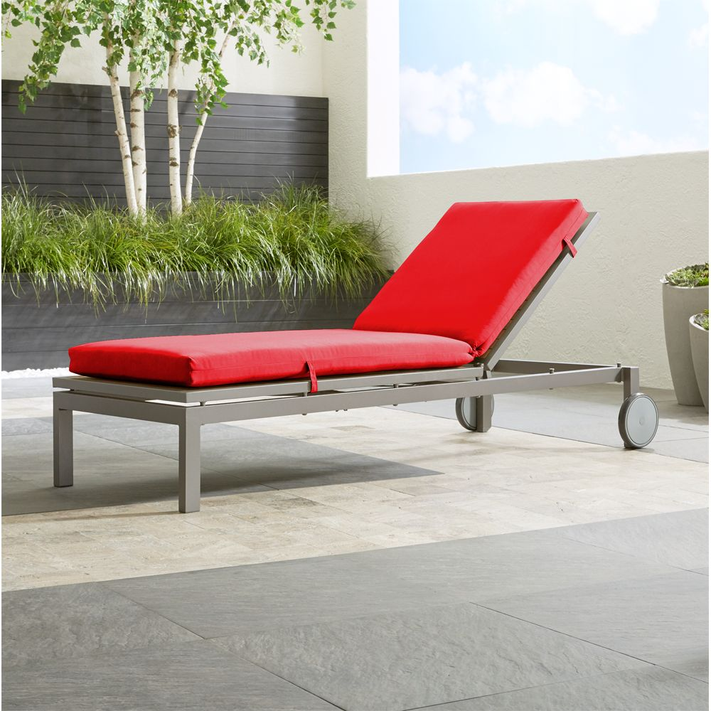 Alfresco Natural Chaise Lounge with Sunbrella ® 3