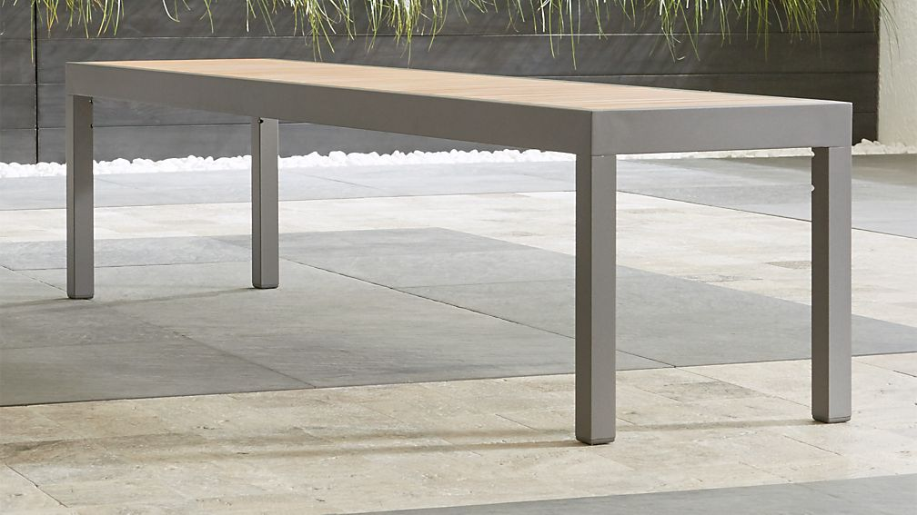 Alfresco II Natural Dining Bench - Image 1 of 3