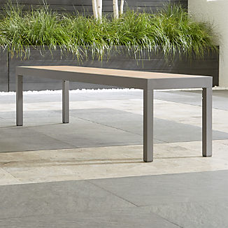 Alfresco II Natural Dining Bench