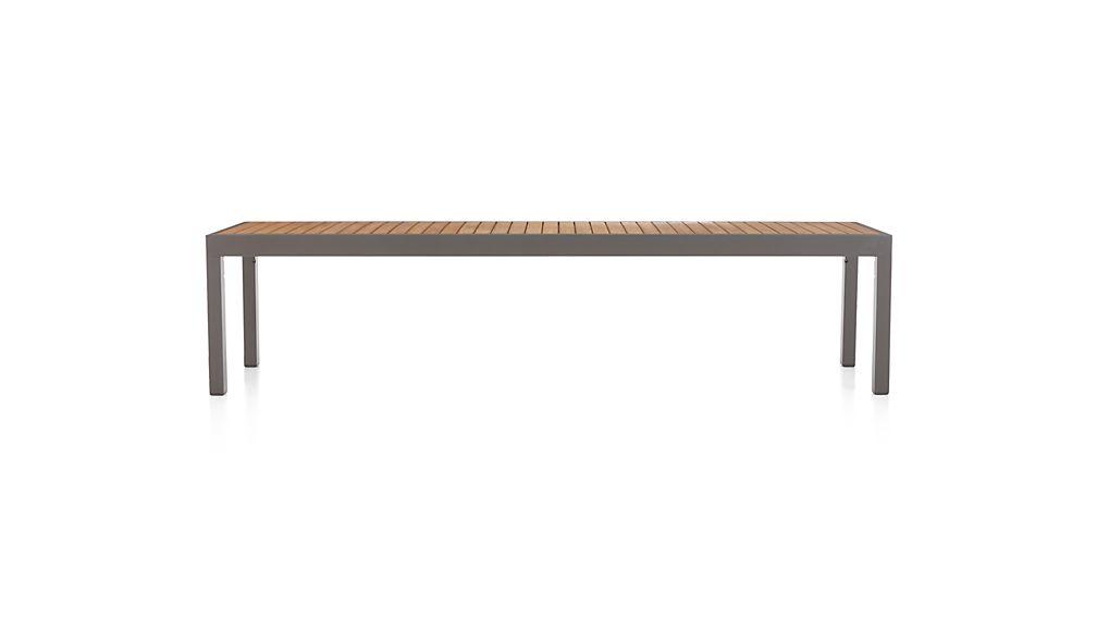 Alfresco Natural Dining Bench