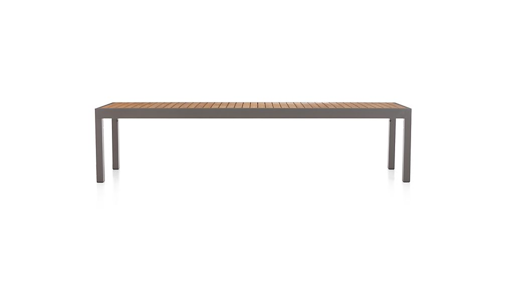 Alfresco Natural Dining Bench