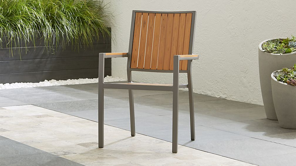 Alfresco ii natural dining arm chair reviews crate and