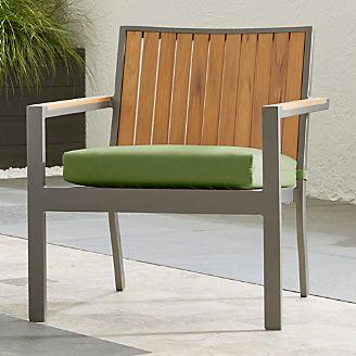 Alfresco II Natural Lounge Chair With Sunbrella ® Cushion