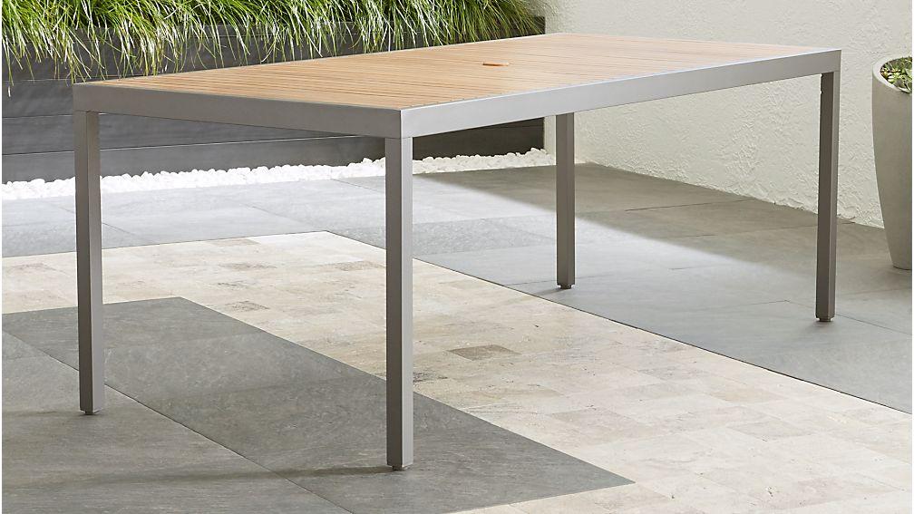 Alfresco ii natural rectangular dining table reviews