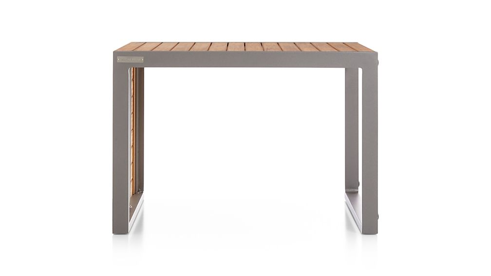 Alfresco Natural Side Table-Stool