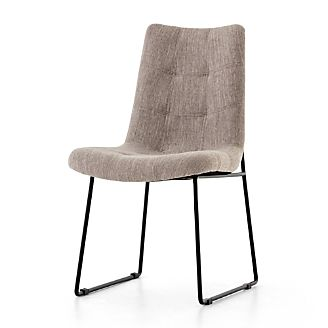 281651e2db3f5 Naomi Savile Grey Tufted Dining Chair