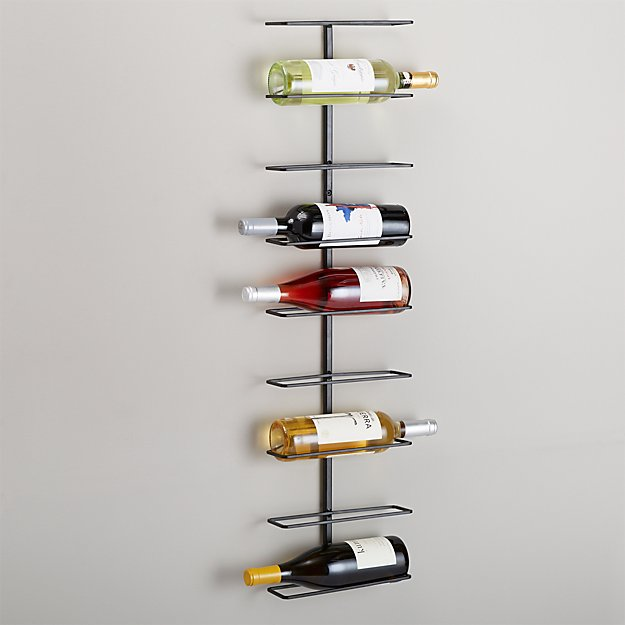 Align Wall Mounted Wine Rack By True Fabrications Reviews Crate