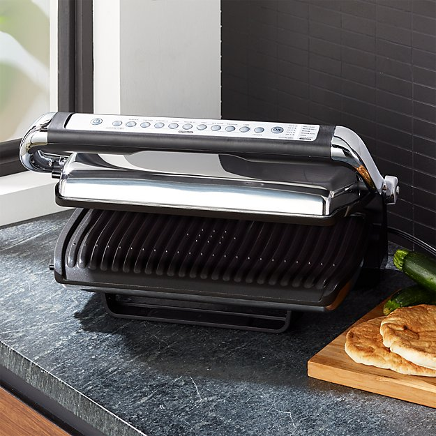All Clad Indoor Electric Grill With Autosense Reviews Crate And Barrel