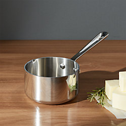 All Clad 174 Stainless 3 Qt Saucepan With Lid Crate And