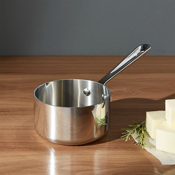All-Clad ® Stainless .5 qt. Butter Warmer