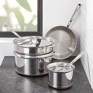 All Clad Cookware Crate And Barrel