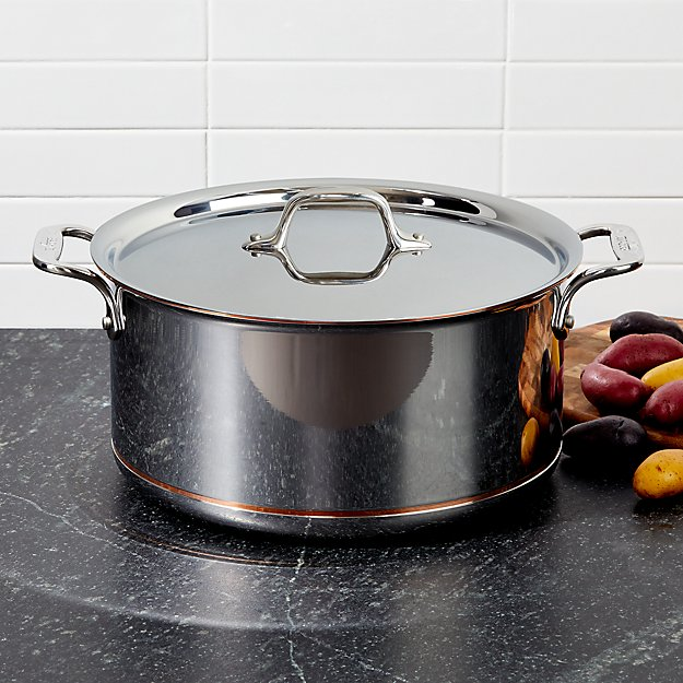 All Clad Copper Core 8 Qt Stockpot With Lid Reviews