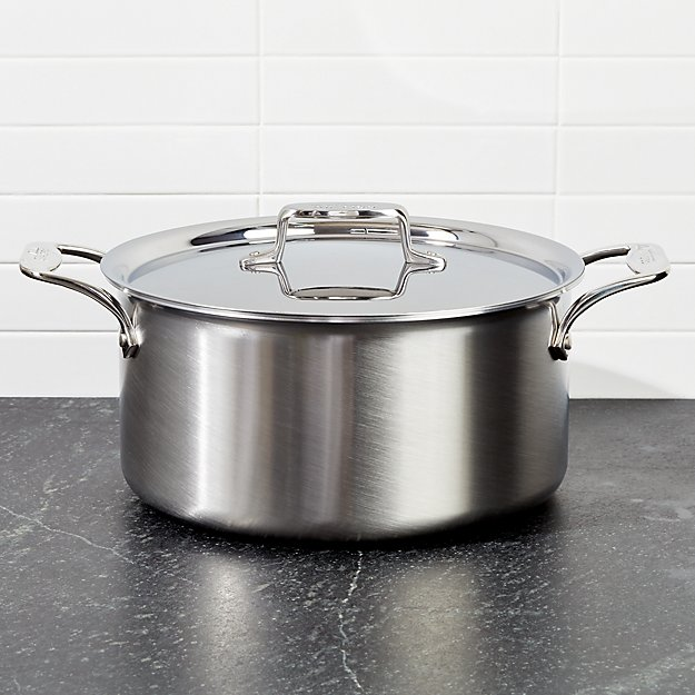 All Clad D5 Brushed Stainless 8 Quart Stockpot With Lid Reviews