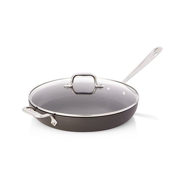 All Clad Ha1 Hard Anodized Non Stick 12 Quot Fry Pan With Lid