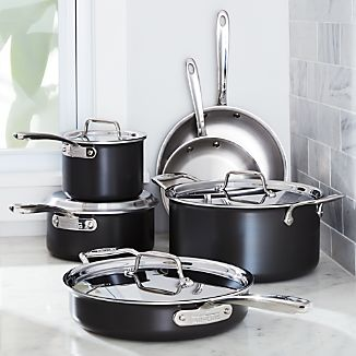 All Clad ® LTD Cookware 10-Piece Cookware Set with Bonus