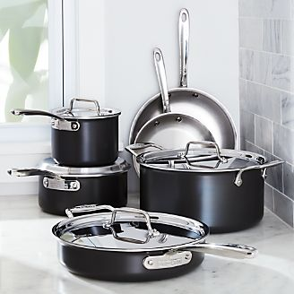 all clad ltd cookware 10piece cookware set with bonus