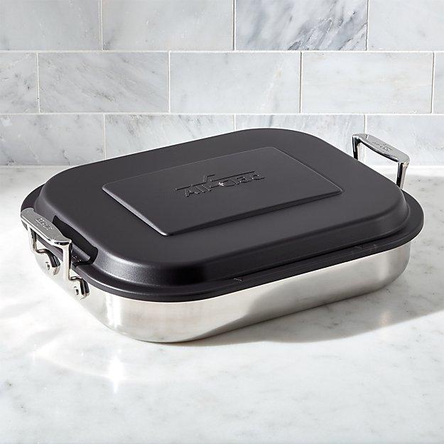 All Clad 174 Lasagna Baker With Lid Crate And Barrel