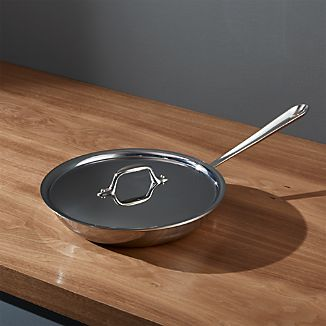 "All-Clad ® Stainless 10"" Fry Pan with Lid"