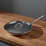 All-Clad ® Stainless 12  Fry Pan with Lid