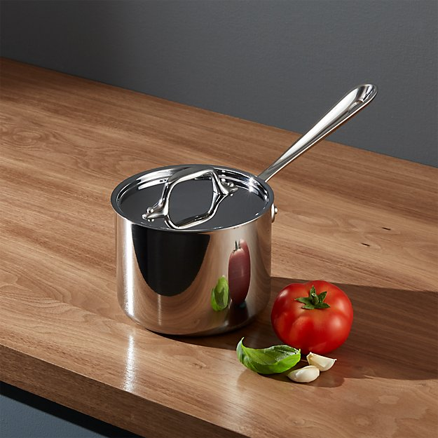 All-Clad ® Stainless 2 qt. Saucepan with Lid