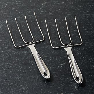 All-Clad ® Stainless Steel Turkey Lifters Set of Two