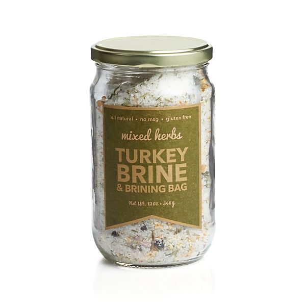 Urban Accents Mixed Herbs Turkey Brine & Brining Bag