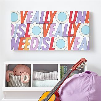 Kids Wall Art And Decor Crate And Barrel